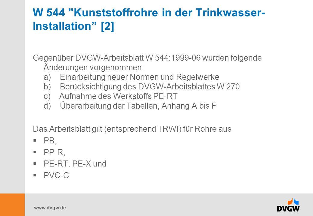 W 544 Kunststoffrohre in der Trinkwasser-Installation [2]